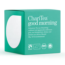 ChariTea good morning
