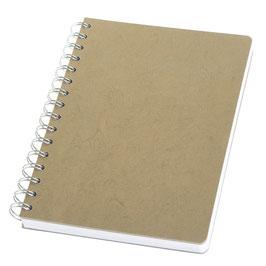 LinoBook® DIN A5 Urban Grey – Notizbuch mit Einband aus Linoleum