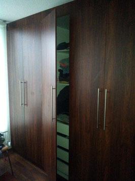 Closets modular con 4 cajones