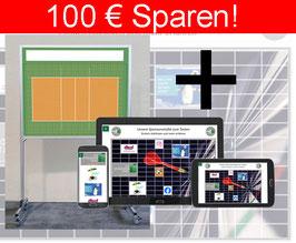ONLINE-SPONSORENTAFEL + Die Sponsorentafel Innenbereich, mobil