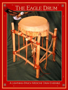 Eagle Lightning-Struck Drum