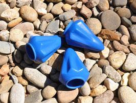 Pocket Shot Gomas Recambios azules - de tres