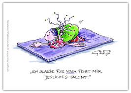 Stineliese Postkarte - Yoga ...