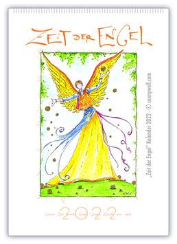 """Kunstkalender """"Zeit der Engel"""" 2022 mit Botschaft"""