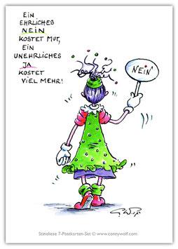 K14 - Stineliese Postkarte - Nein ...