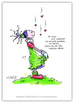Stineliese Postkarte - Wunder ...