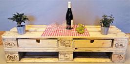 TV Tisch, 70 x 124 x 62, Sitzhöhe 31 cm, individualisierbar