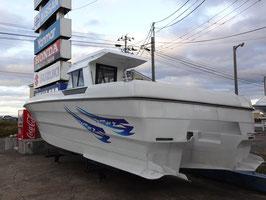 27フィート オリジナルボート (中古艇)