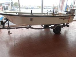 (委託艇)ヤマハ和船(14尺) 船外機 トレーラーセット