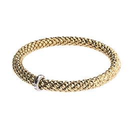 Bracciale Elastico Oro Giallo - Stella Milano Codice: BSE0023