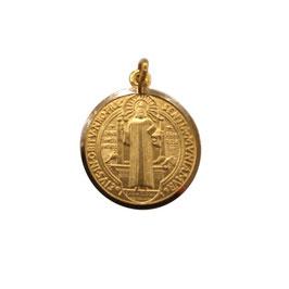 Medaglia Ciondolo San Benedetto Oro Giallo 18 kt codice: 803321730347