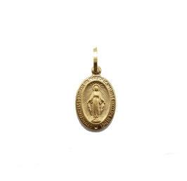 Medaglia madonna Miracolosa in Oro Giallo 18 Kt Referenza: C1623G