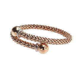 Bracciale Serpente in Oro rosa Stella Milano BR0058R