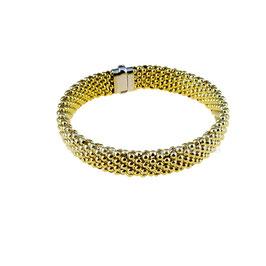 Bracciale donna in oro giallo 18 kt semirigido codice: BR2665G