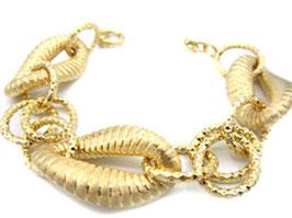 Bracciale catena donna in oro giallo satinato 18 kt codice : IS980G