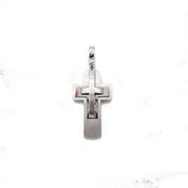 Croce in oro bianco Referenza: IS1475B