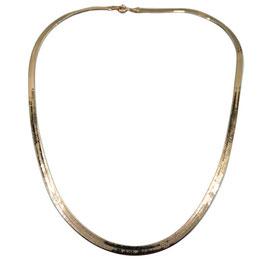 Collana Piattina in Oro Giallo 18 kt Referenza: CC1622OV