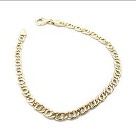 Bracciale catena in oro gallo 18 kt da gr 5.60