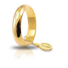 Fede Unoaerre Classica Oro Giallo Grammi 7 mm 4,6 Referenza: 70AFN1