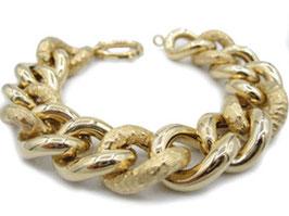 Bracciale  In Oro Giallo 18 kt groumette  codice: IS976G