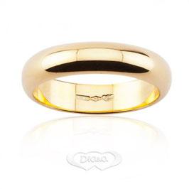 Fede Classica in Oro giallo grammi 7 Referenza: F7NOG