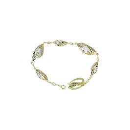 Bracciale oro 18kt donna catena scatolato codice: BR1001BG