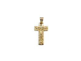 Crocifisso in oro giallo Referenza: IS1446G