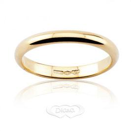Fede Classica in Oro giallo grammi 4 Referenza: F4NOG