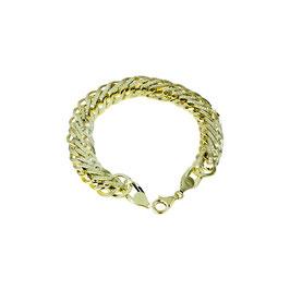 Bracciale oro giallo classico 18 kt donna intrecciato Codice:  BR950G