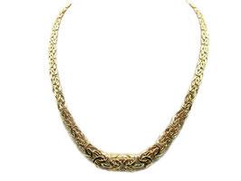 Collana in oro 18KT maglia bizantina IS1208GRC