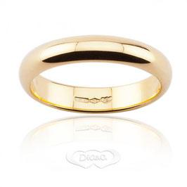 Fede Classica in Oro giallo grammi 6 Referenza: F6NOG