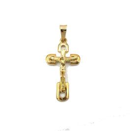 Crocifisso in oro giallo Referenza: IS1456G