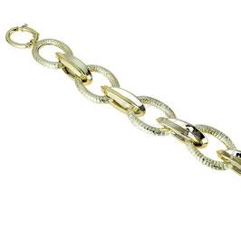 Bracciale oro 18kt donna catena scatolato codice: BR970G