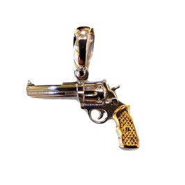 Ciondolo Pistola in oro bianco IS1578DF