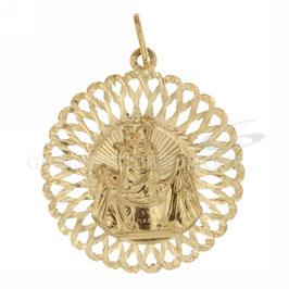 Medaglia Madonna Pompei in Oro Giallo Referenza: C2123G