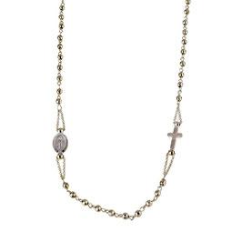 Collana Rosario in oro Rosa 18 Kt Referenza: C1943R