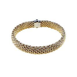 Bracciale donna in oro rosa 18 kt semirigido codice: BR2664R