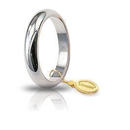 Fede Unoaerre Classica Oro Bianco 6 Grammi Referenza: 60AFN1B