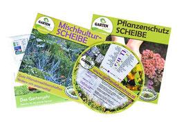 Gartendrehscheiben-Paket  mittel