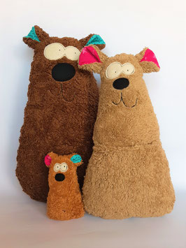 Bio-Bärenfamilie
