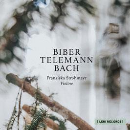 SOLO DEBÜT ALBUM  mit Werken von  BIBER TELEMANN BACH