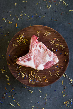 Chuleta de cerdo ibérica madurada 30 días