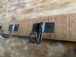 Holzhakenleiste mit 5 Haken
