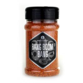 Bang Boom Bang, BBQ-Rub, 210gr im Streuer