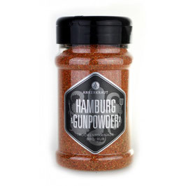 Hamburg Gunpowder, BBQ-Rub, 200gr im Streuer