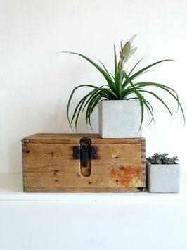 Antike Werkzeugkiste Holzbox 43 x 18,5 x 19cm