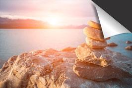 Stapel von Steinen Induktionsschutz