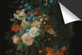 Blumenstrauss auf schwarz-Induktionsschutz