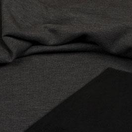 Sweat Stoff dunkel grau