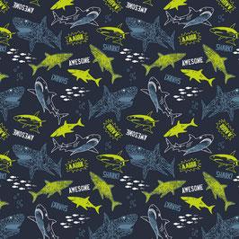 Jersey - Hai grün/blau